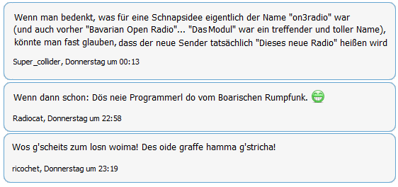 Radioforen.de rätselt über BR-Namen