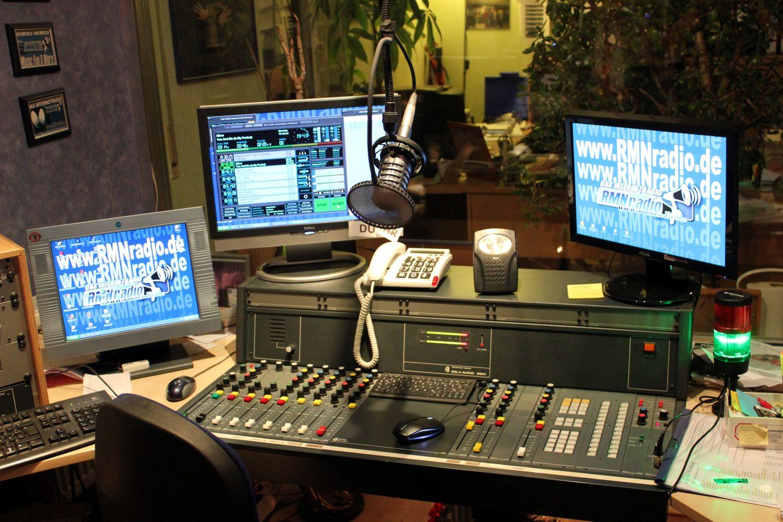 Studio von RMN Radio