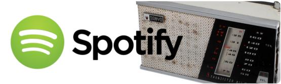 Das Spotify-Radio und ein nostalgisches Radio