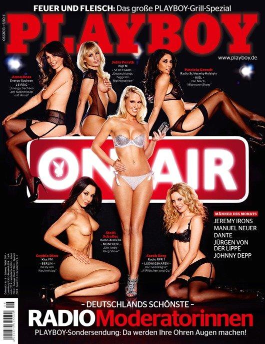 Das Cover des neuen Playboy (Bild: © Florian Lohmann für Playboy Juni 2013)