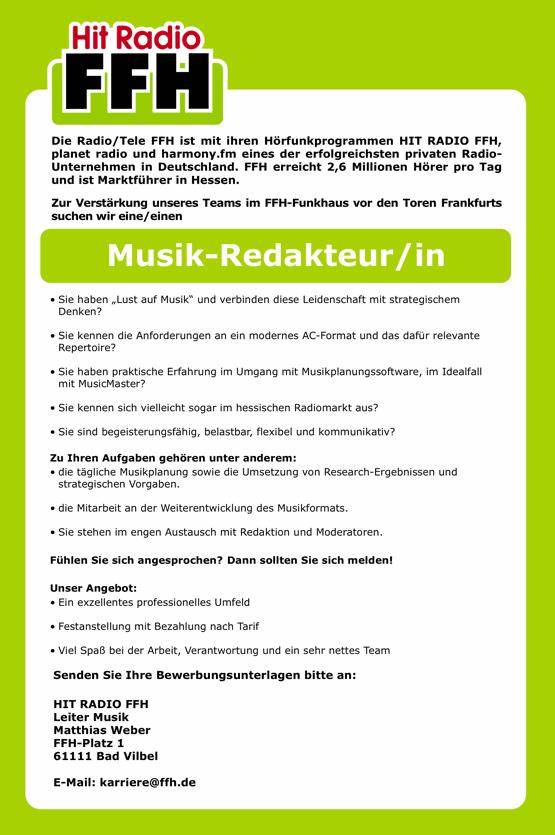 FFH-Stellenanzeige-MusikRedakteur-070513