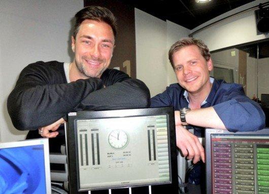 hr-Marco Schreyl (links) und Kai Völker (Bild: hr/Tanja Greitens)