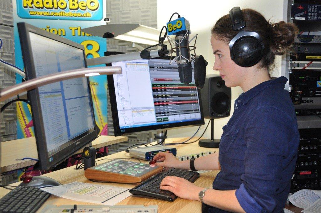 Der neue DABiS800 Studio Controller 8 im Einsatz bei Radio BeO (Schweiz)