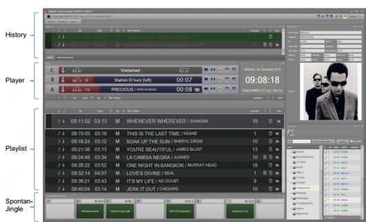 Konfigurierbarkeit des DABiS800 Studio Controller 8 (Videos)