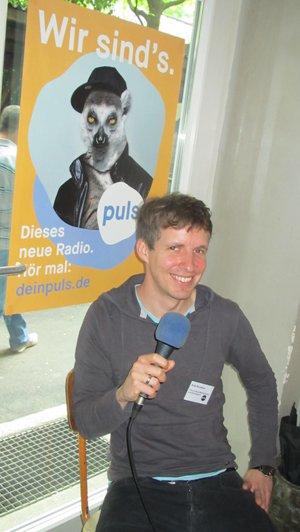 Andy Barsekow, Leiter Musikplan und und Bandsupport bei PULS