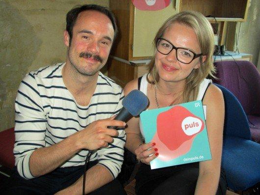 PULS-Moderatoren Matthias Kammel und Jenni Gärtner