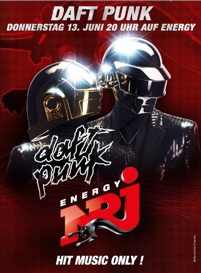 Daft Punk Interview bei ENERGY