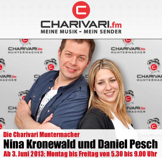 Nina Kronewald und Daniel Pesch (Bild: Charivari Würzburg)