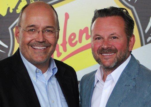 Antenne Steiermark-Geschäftsführer Rudolf Kuzmicki und Gottfried Bichler (Bild: Antenne Steiermark)