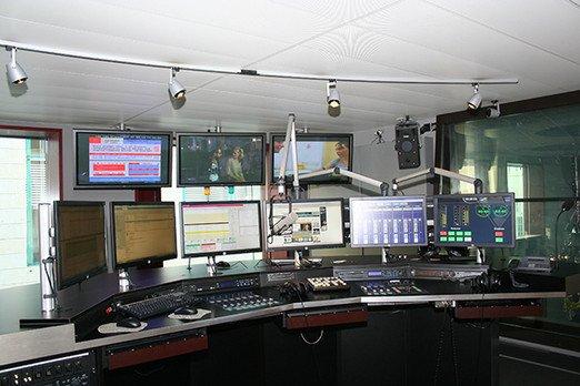 Radio Argovia Studio (Foto: Rado Argovia Homepage)