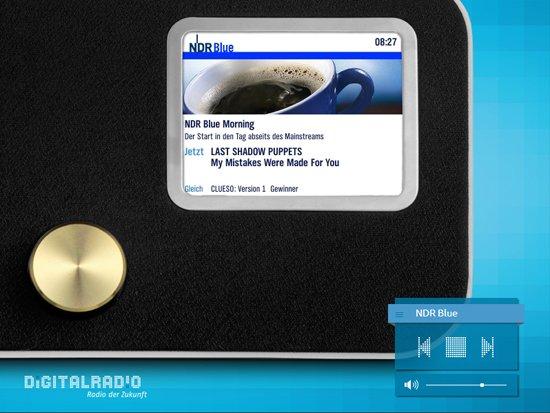 Digitalradio-Demonstrator simuliert, wie die Programme auf DAB+-Empfangsgeräten aussehen würden. (Bild: Projektbüro Digitalradio)