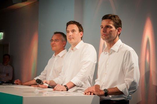 Hamburg: 895 Florian Ruckert (RMS), Horst Hoof (Radio Hamburg), Oliver Adrian (AS&S Radio)