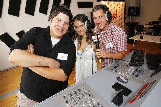 Energy Ludwigsburg Moderatoren im neuen Studio