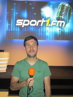 Konstantin Winkler, Moderator Sport1.fm (Foto: Björn Czieslik)