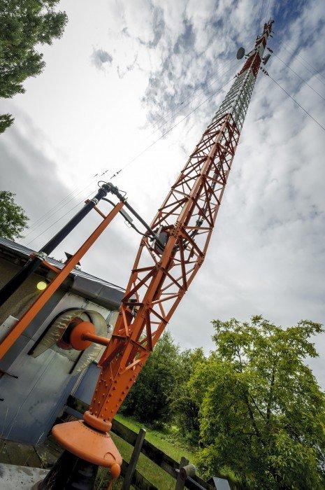 Mittelwellen-Mast in Britz