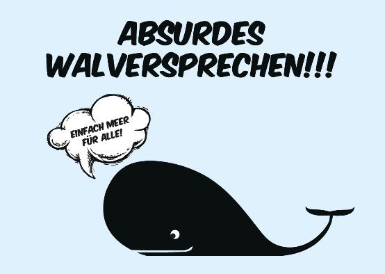 Absurdes Walversprechen