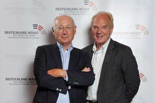 Stefan Aust und Lutz Kuckuck (Foto: ffn)