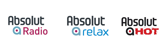 Absolut Radio Logos