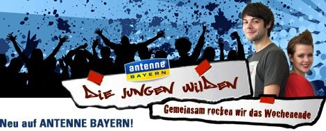Antenen Bayern - Die jungen Wilden