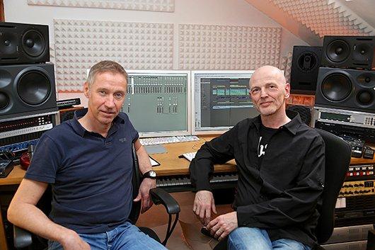 Klaus Schilling, Produktionschef radio NRW, Ulrich Weichler, Audiowerk Berlin