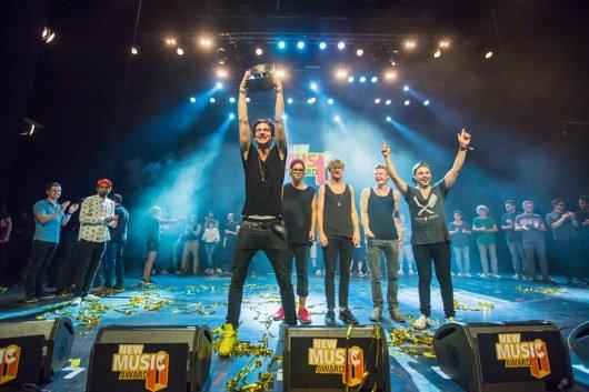 Exclusive sind die Gewinner des New Music Awards 2013 (Bild: Stephan Flad)