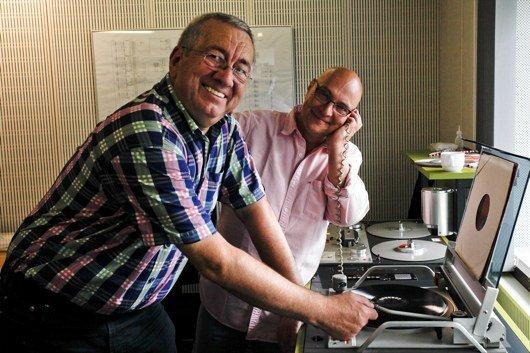 Werner Reinke und Thomas Koschwitz (Bild: hr/Jens Naumann)