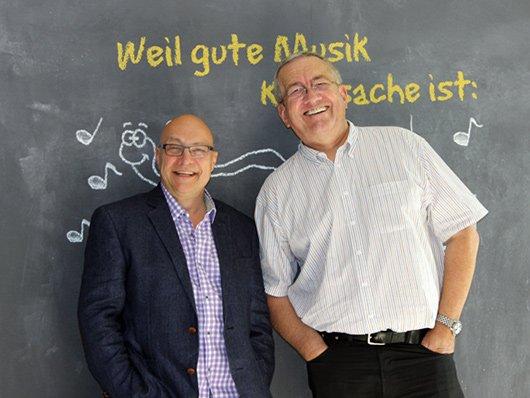 """Reinke & Koschwitz: freuen sich auf den """"Vinyl-Sonntag"""" (Bild: © hr1)"""