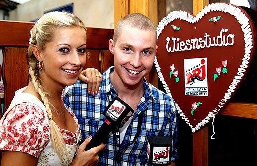 Verena Kerth und Bene Gutjan (Foto: Energy)