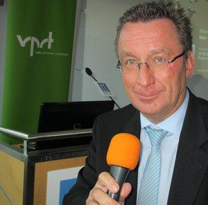 Klaus Schunk, Vorstandsvorsitzender des VPRT (Foto: Björn Czieslik)