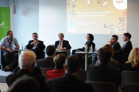 """Panel 9.4 """"Medium der programmlichen Vielfalt"""" (Medientage München 2013)"""