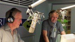 Fritz Egner und Thomas Thomas Gottschalk im Studio von Bayern3 (Foto: br.de)