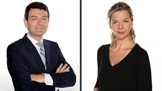Valerie Weber und Jörg Schönenborn (Bild: © WDR/Sachs)