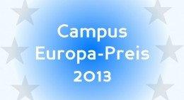 Logo des Campus Europa Preis 2013. Quelle: Deutschlandfunk