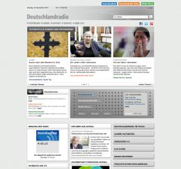 Neue DRadio-Webseite