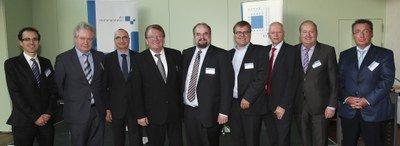 Diskussionsteilnehmer des LMSaar-Panels