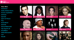 Website des Nokia MixRadio
