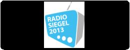 Radiosiegel 2013
