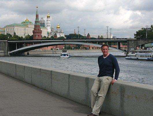 Alexander Tauscher in Moskau