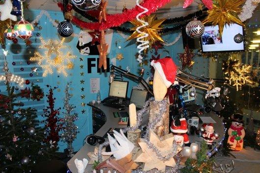 FM1-Weihnachts-Studio 2013 (Bild: ©FM1)