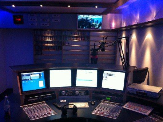 Studio von Radio MS One