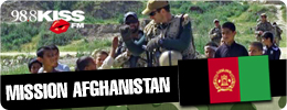 KISS FM Mission Afghanistan