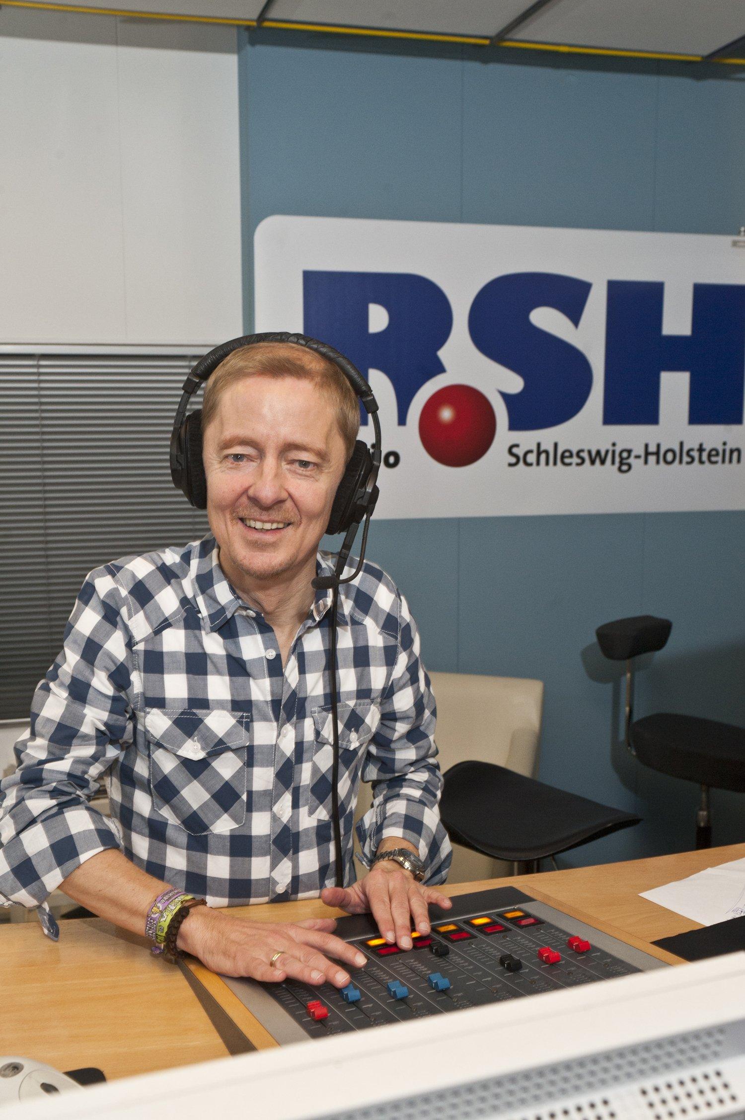 Carsten Köthe im R.SH-Studio (Bild: R.SH)