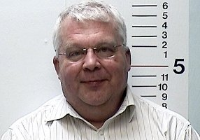 Randy Michaels (Polizeifoto nach Trunkenheitsfahrt)