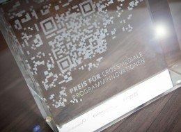 Preis für crossmediale Programminnovationen - Kubus (c) nordmedia - Foto Ole Hoffmann