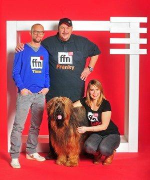 ffn Niedersachsens beste Morningshow mit Studiohund Bizkit (Bid: ffn)