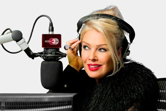 Kim Wilde bei DONAU 3 FM (Bild: DONAU 3 FM)