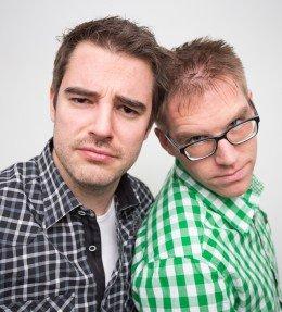Oliver Harbring und Daniel Krawinkel