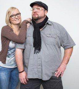 Raimund Stroick und Jelena Baier