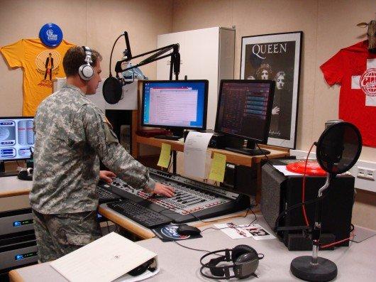 Radiostudio von AFN Stuttgart