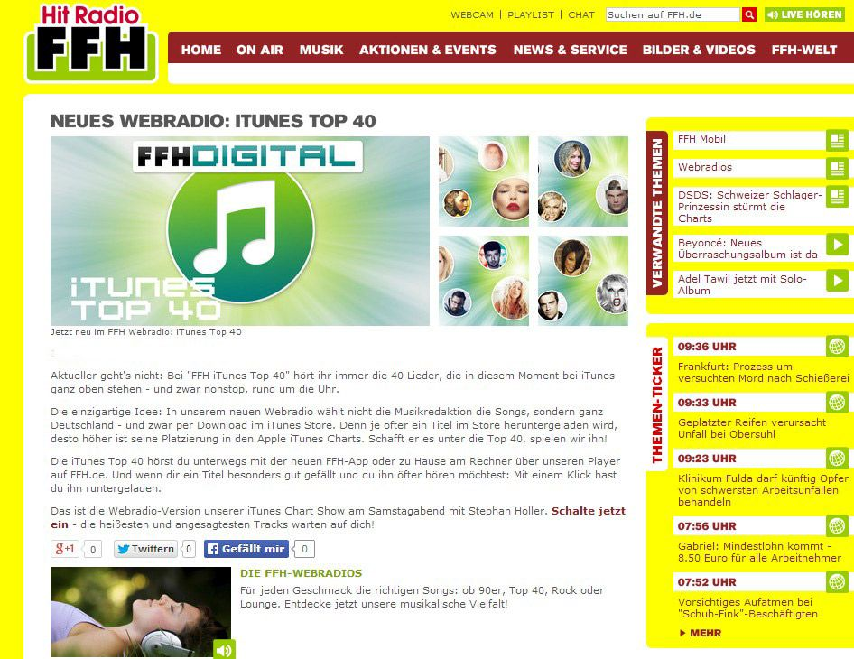 Itunes Charts Ffh